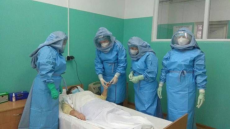 На Луганщині для медиків провели навчальний тренінг