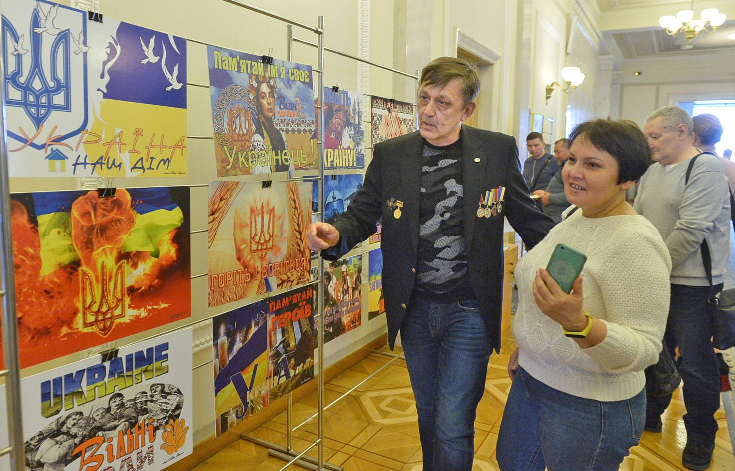 Відбулося відкриття експозиції «Кольори» художника Юрія Неросліка