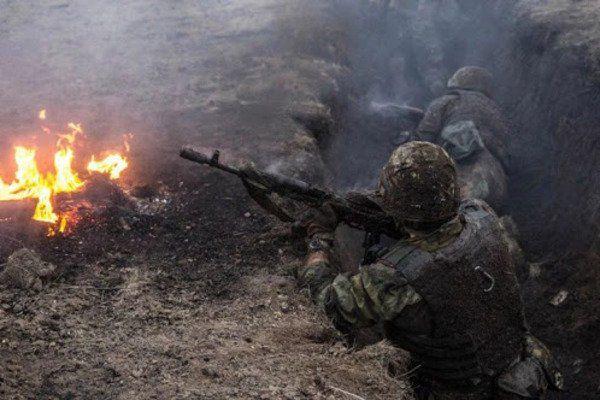 Truppen der Russischen Föderation griffen ukrainische Stellungen an