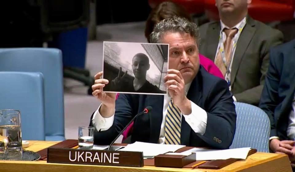 UN-Sicherheitsrat unterstützte Ukraine