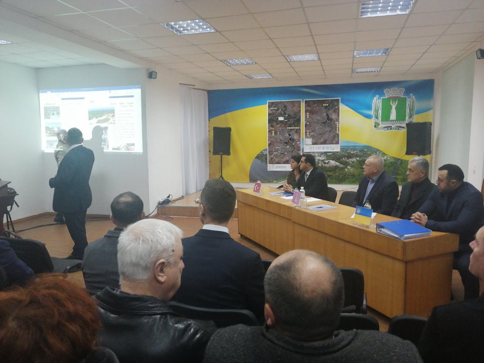 Системи водопостачання та водовідведення Сміли модернізують турецькі інвестори