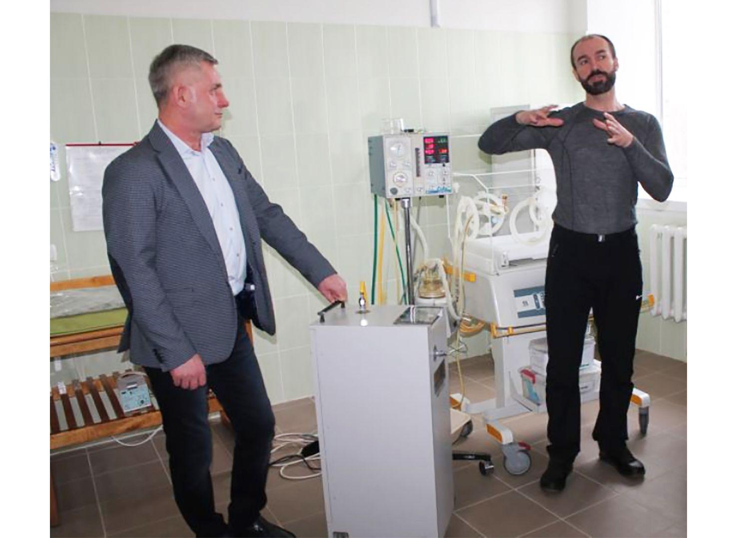 Реанімаційне обладнання немовлятам Романівської лікарні