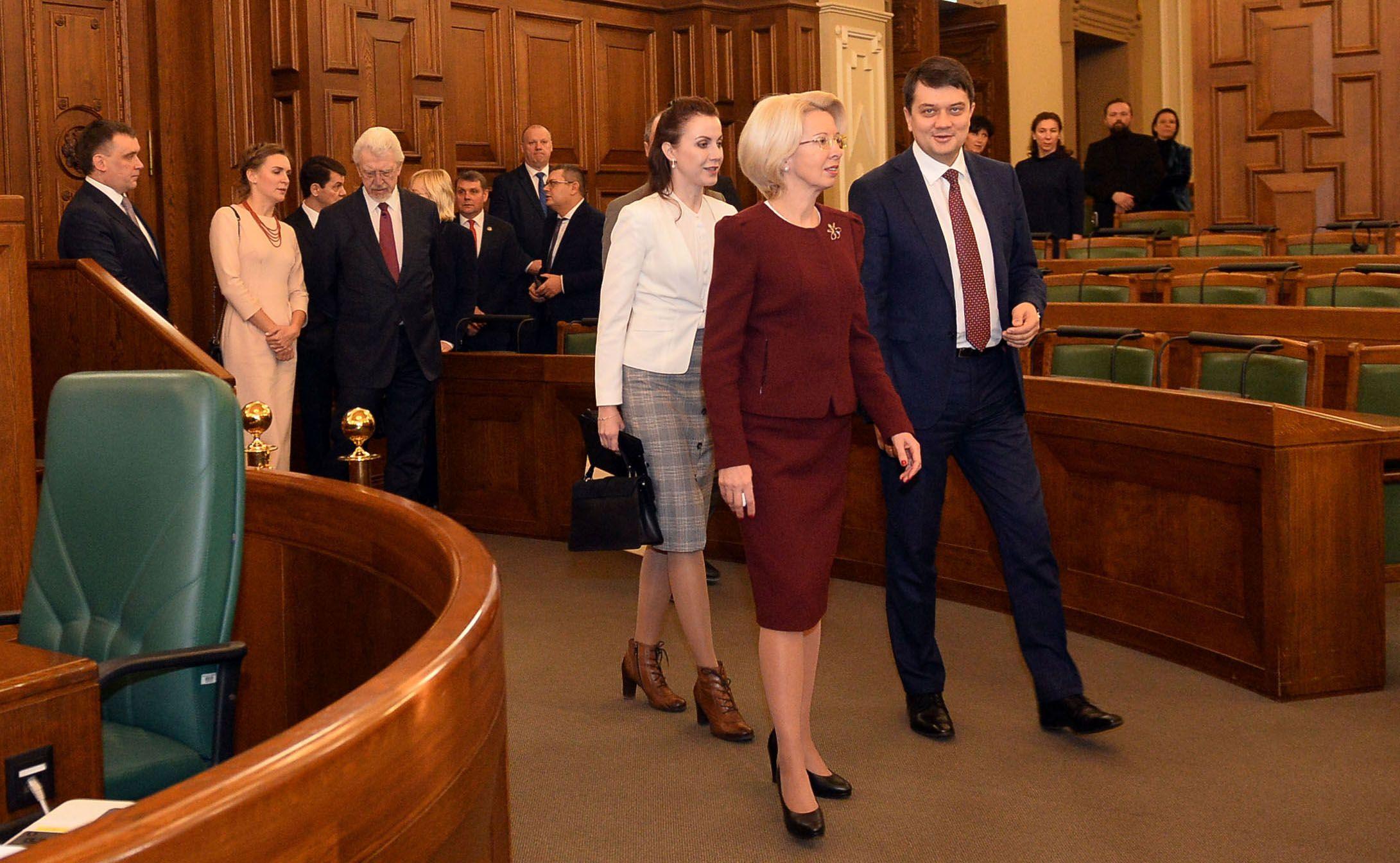 Дмитрий РАЗУМКОВ: «Постоянная, непоколебимая и принципиальная поддержка со стороны Латвии является ценной и важной для Украины»