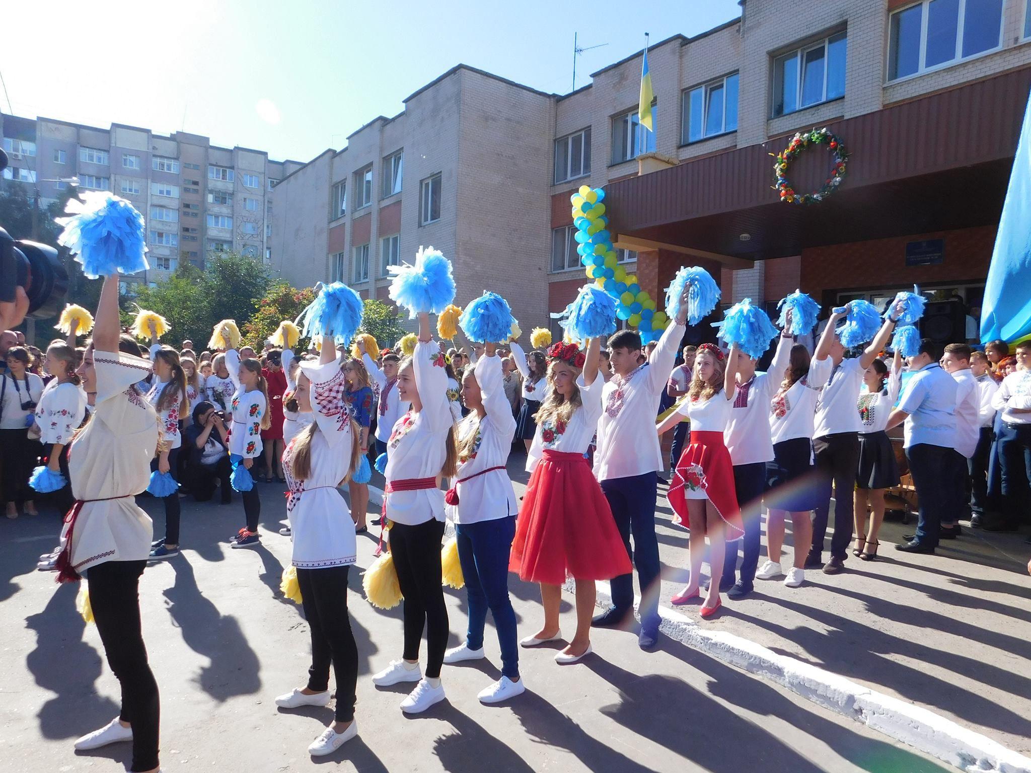 Самая большая школа в Украине — в Хмельницком