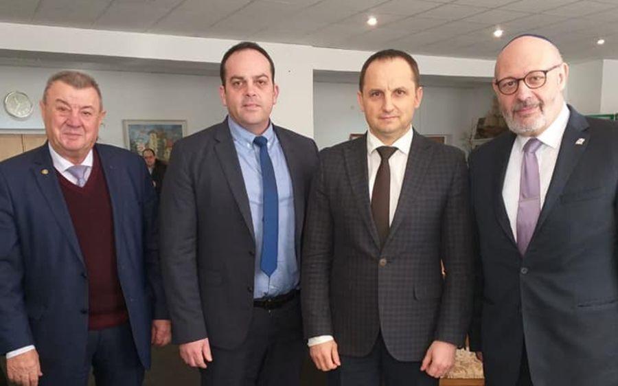 Ізраїльські дипломати відвідали Умань