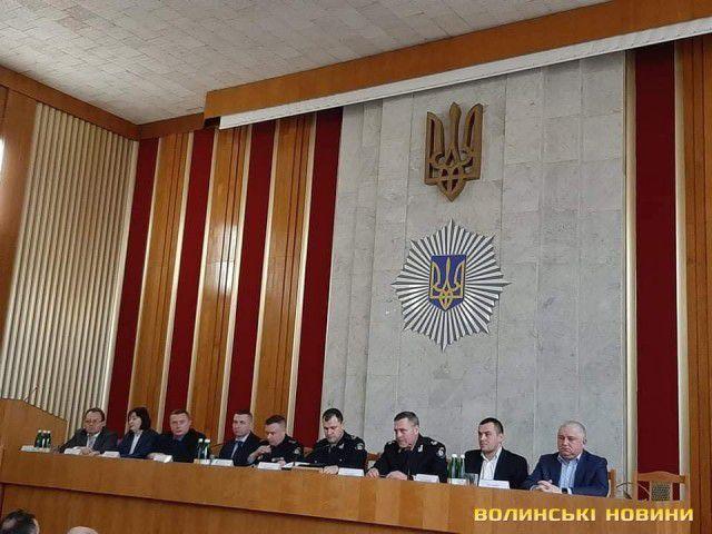 У Луцьку без преси  представили очільника поліції