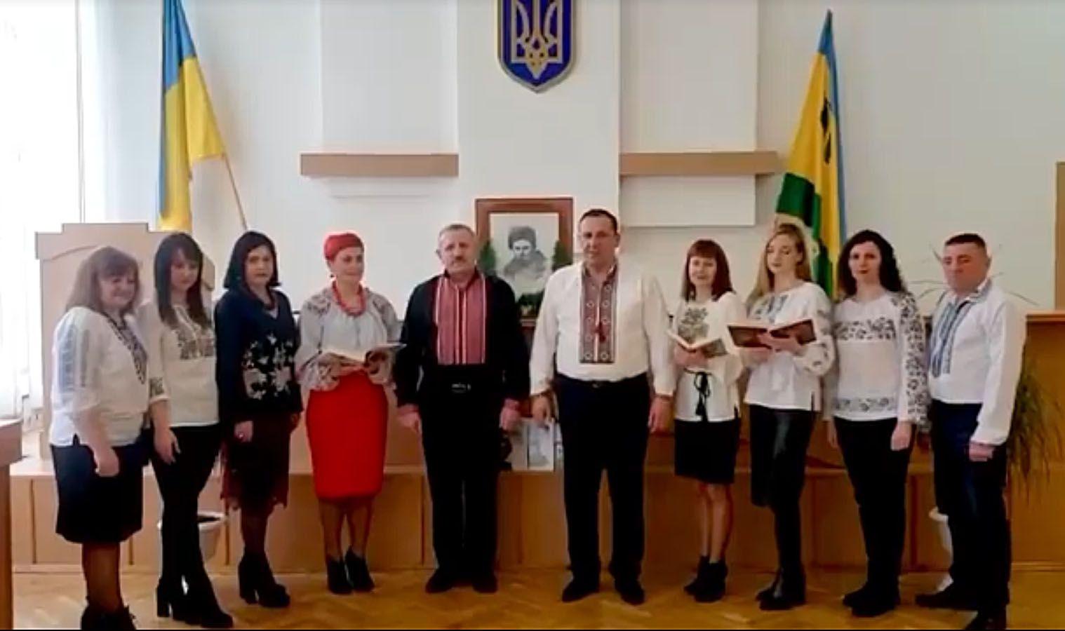 Твори Кобзаря читав керівник Рокитнівського району