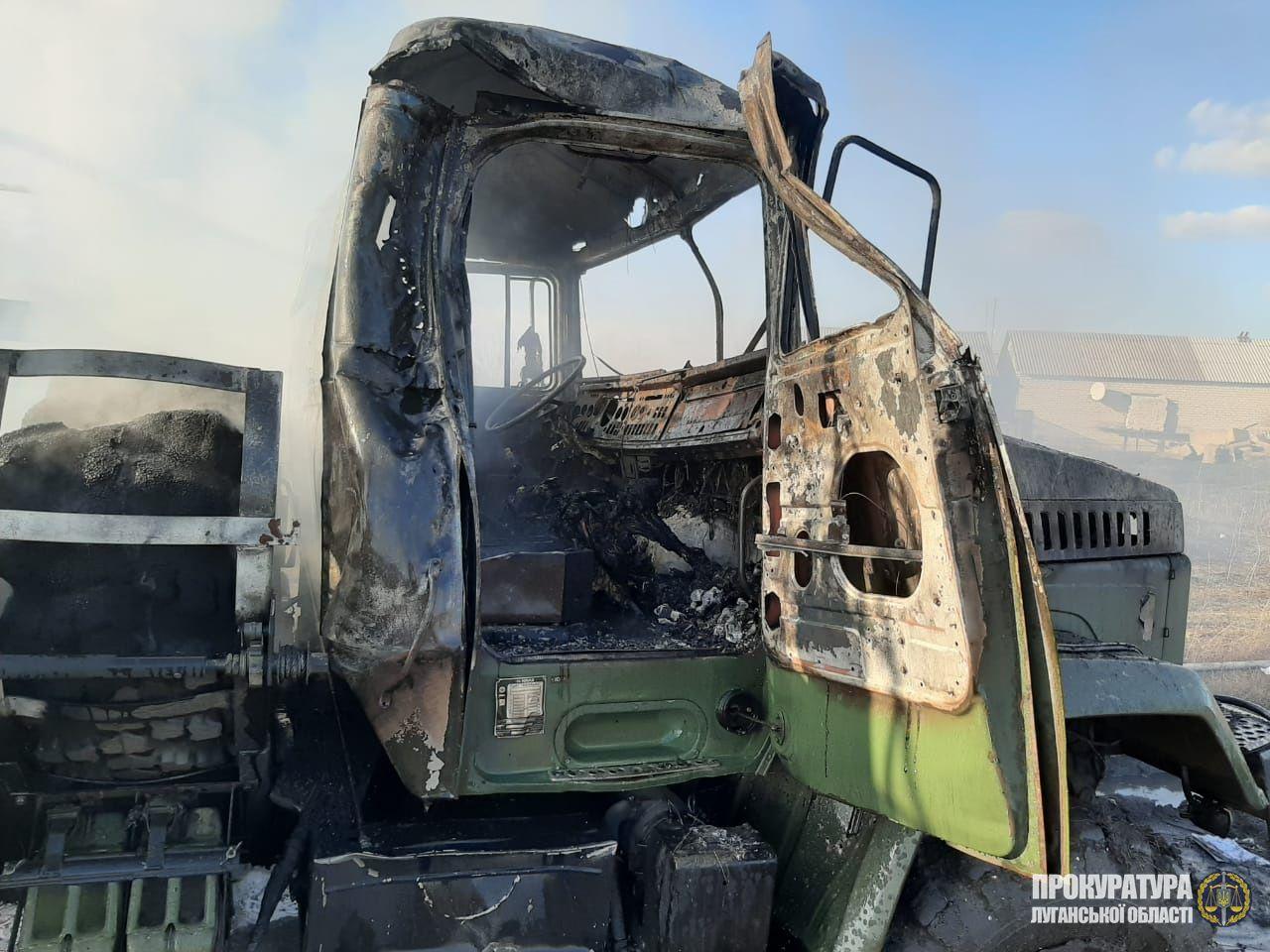 В Луганской области задокументировано очередное преступление