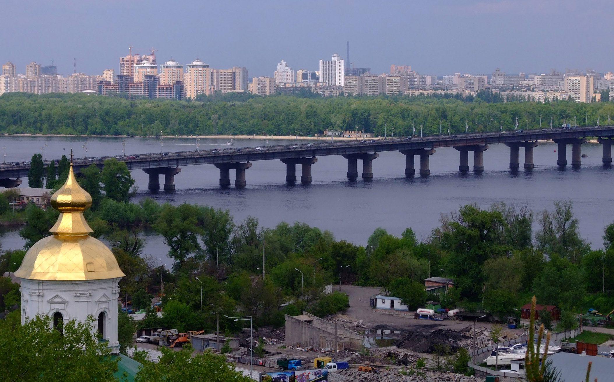 Київські мости академіка Євгена Патона