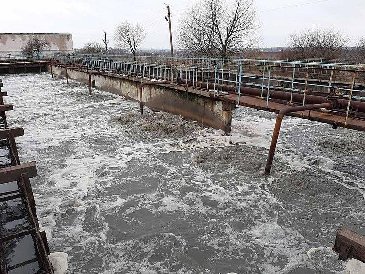 Чистой воды на Хмельнитчине становится все меньше