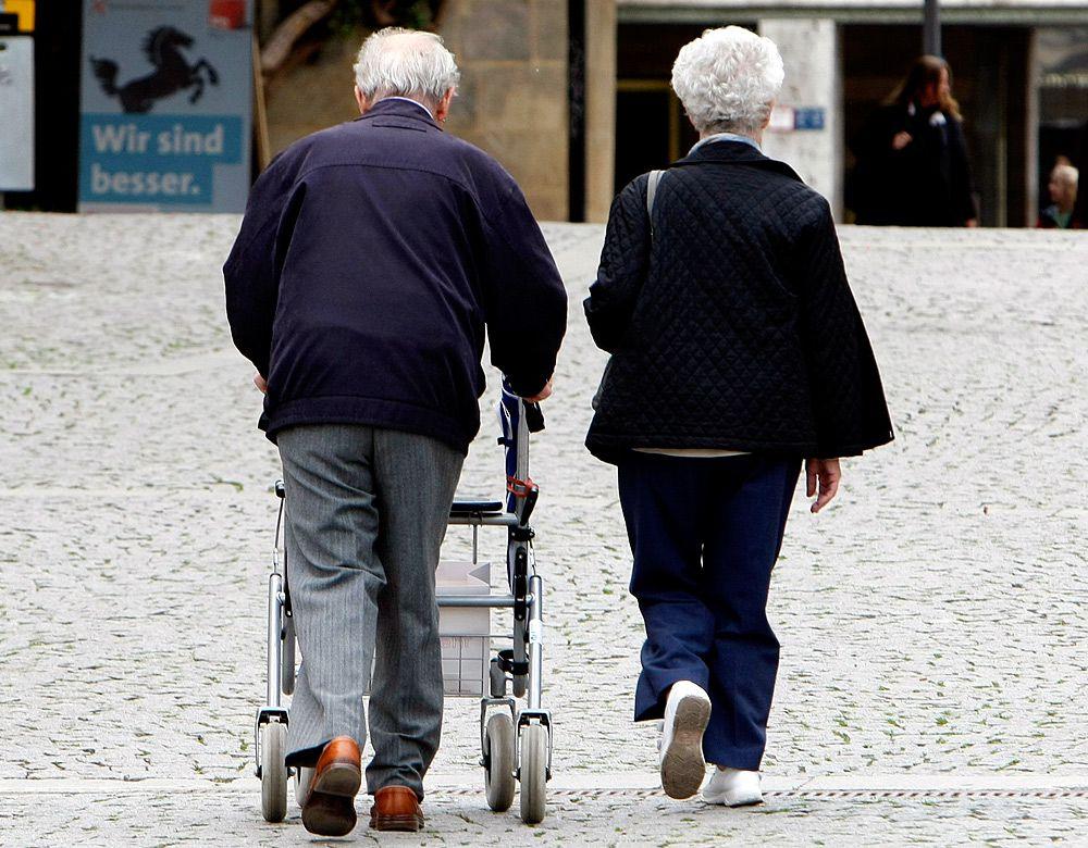 Як німецькому пенсіонеру звести кінці з кінцями