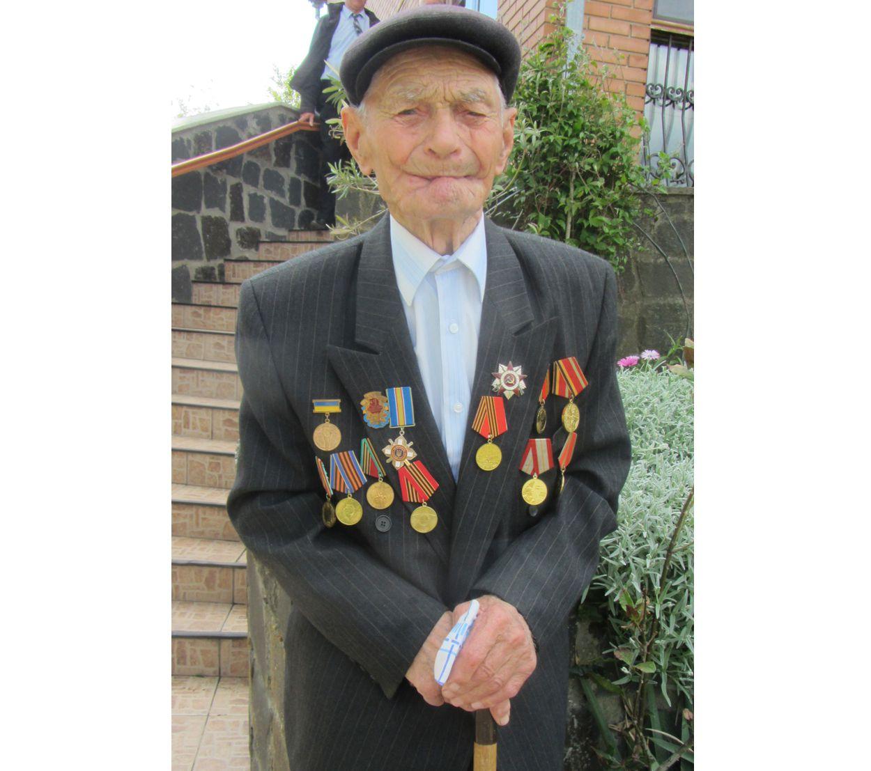 На Волині пішов у засвіти найстаріший фронтовик Никанор Пристанець