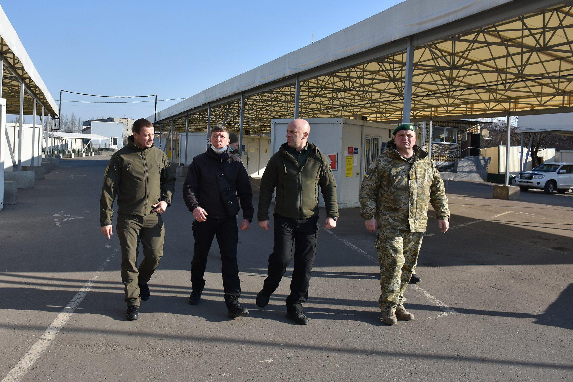 КПВВ у Донецькій області забезпечені всім необхідним