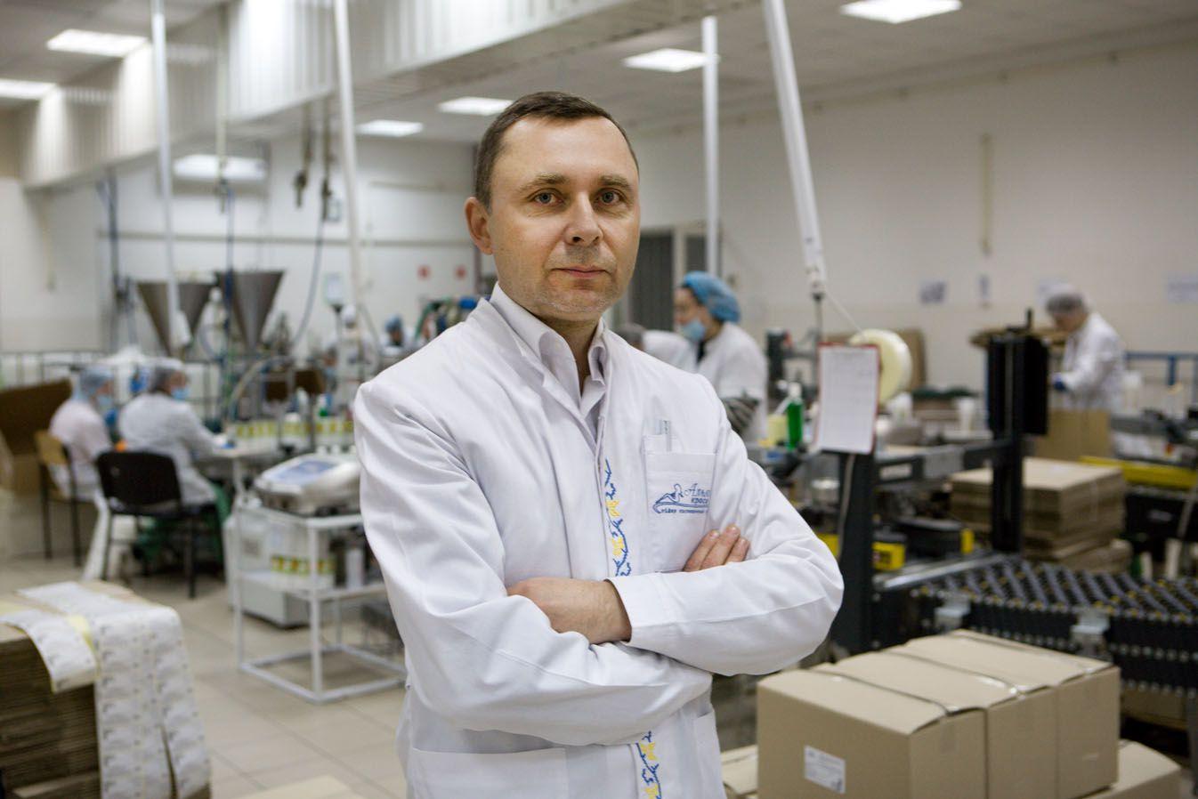 Українська компанія «Альянс краси» допомагає боротися з коронавірусом на Київщині