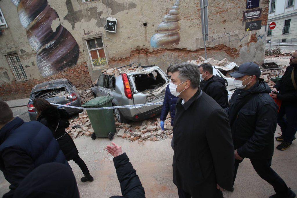У Хорватії стався  найсильніший  за 140 років землетрус