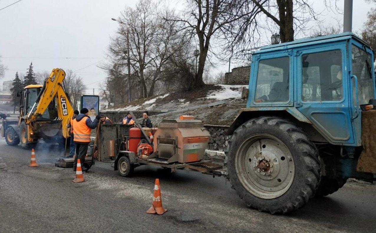 Ремонт доріг у Сумах триває за планом