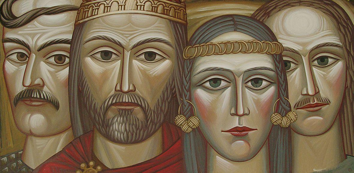 «Жив там першим Кий з Хоривом, Щек та Либідь — їх сестра»