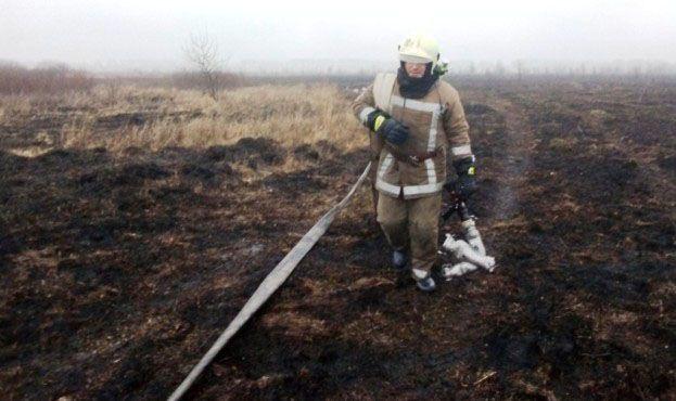 У Чернігівській області горить торфовище