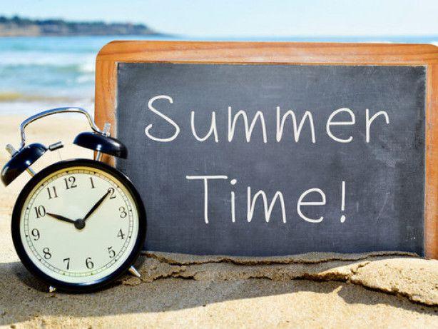 Переходимо на літній час
