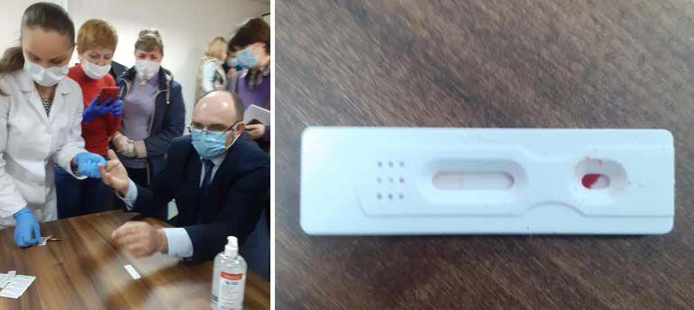 На Буковині сімейних лікарів навчали робити експрес-тести