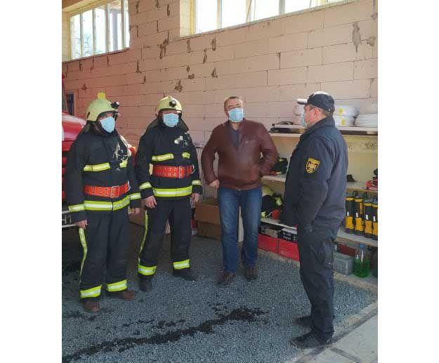 У селі Сенча почав діяти підрозділ місцевої пожежної охорони