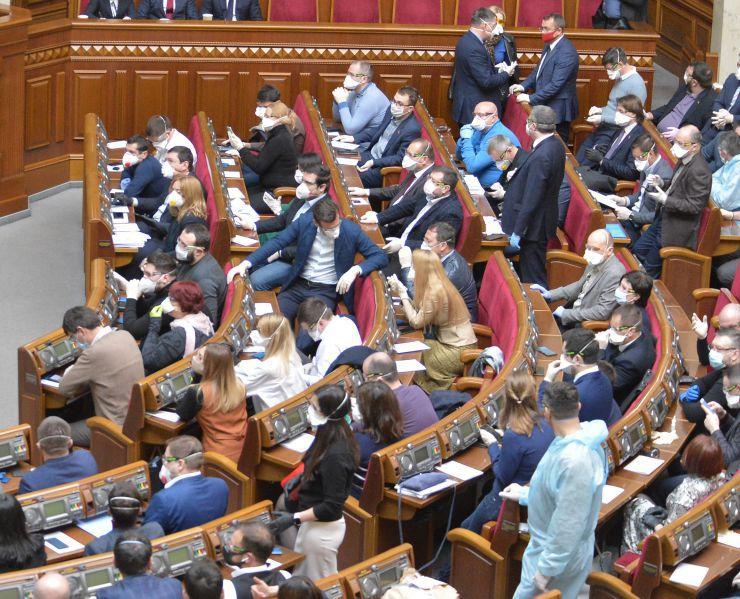 Ухвалили низку антикризових законопроектів