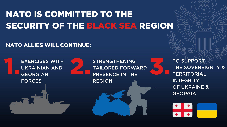 США підтримують майбутнє членство України в НАТО