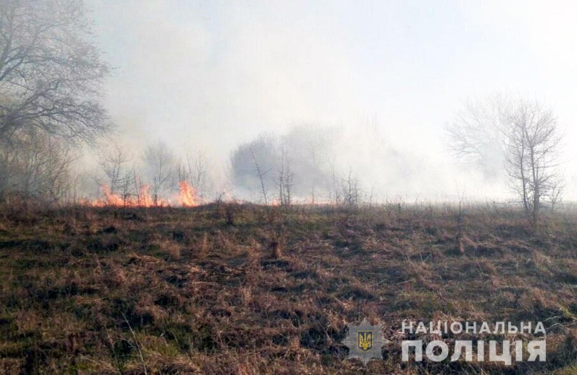 На Чернігівщині поліція піймала паліїв