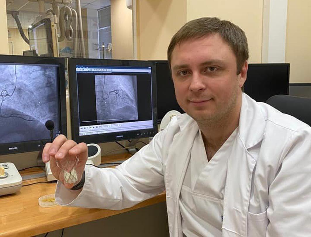 Серцевий клапан замінюватимуть за методикою TAVI