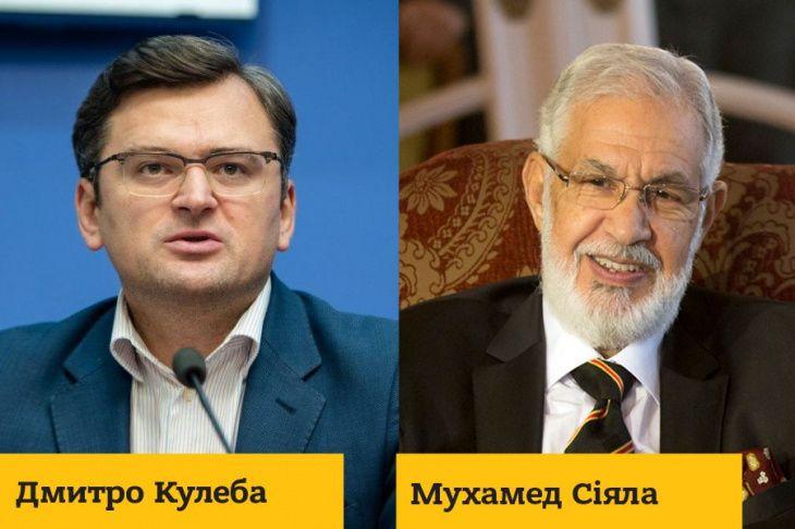 Дмитро Кулеба обговорив з главою МЗС Лівії питання звільнення 18 українських моряків