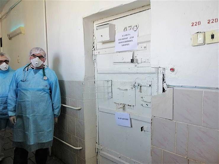 Коронавірус може проникати й через стіни в'язниці