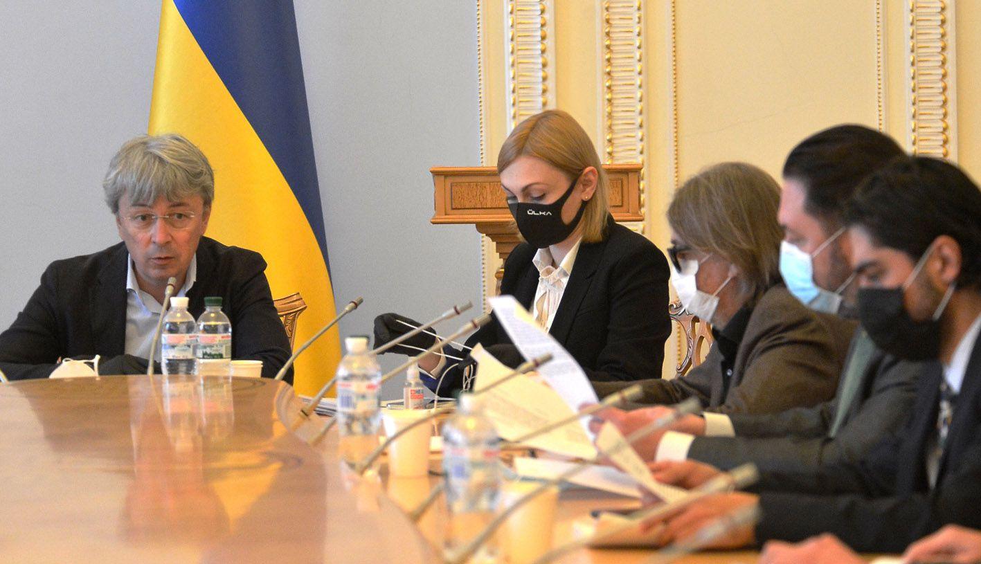 Засідання комітету ВР з питань гуманітарної та інформаційної політики
