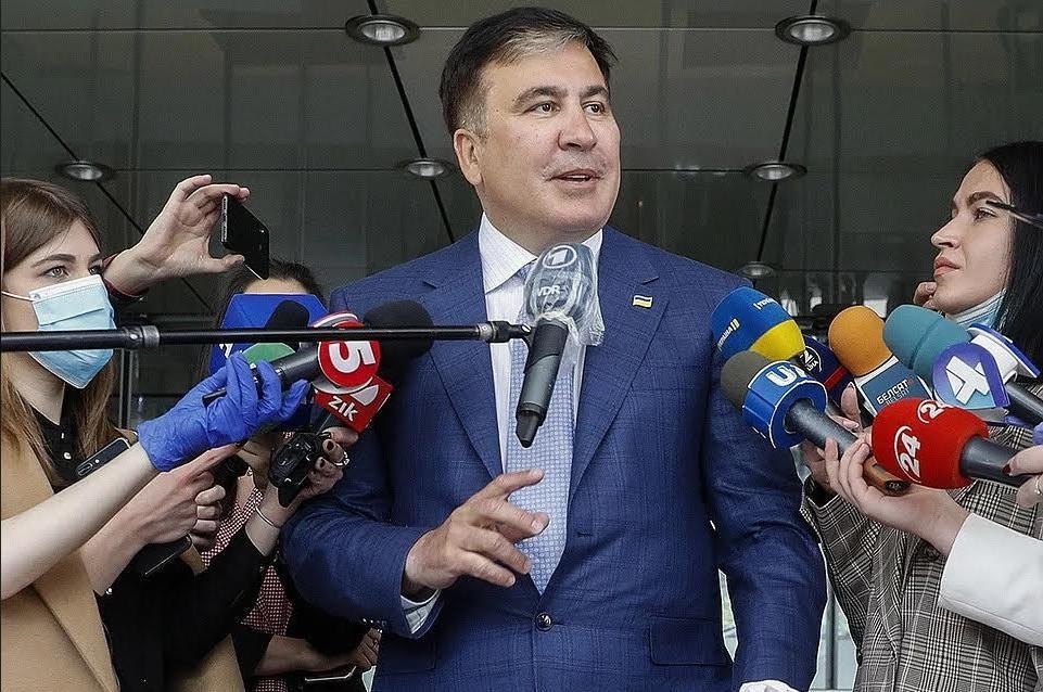 Saakaschwili erhielt offizielle Dienststelle in Ukraine