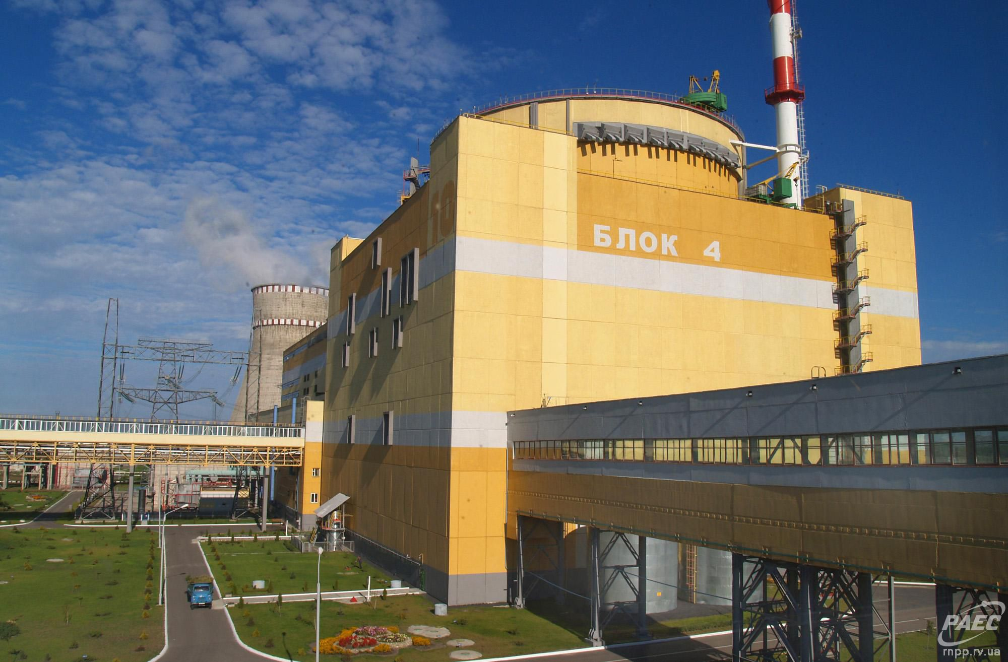 Енергоблок № 4 Рівненської АЕС виведено в резерв