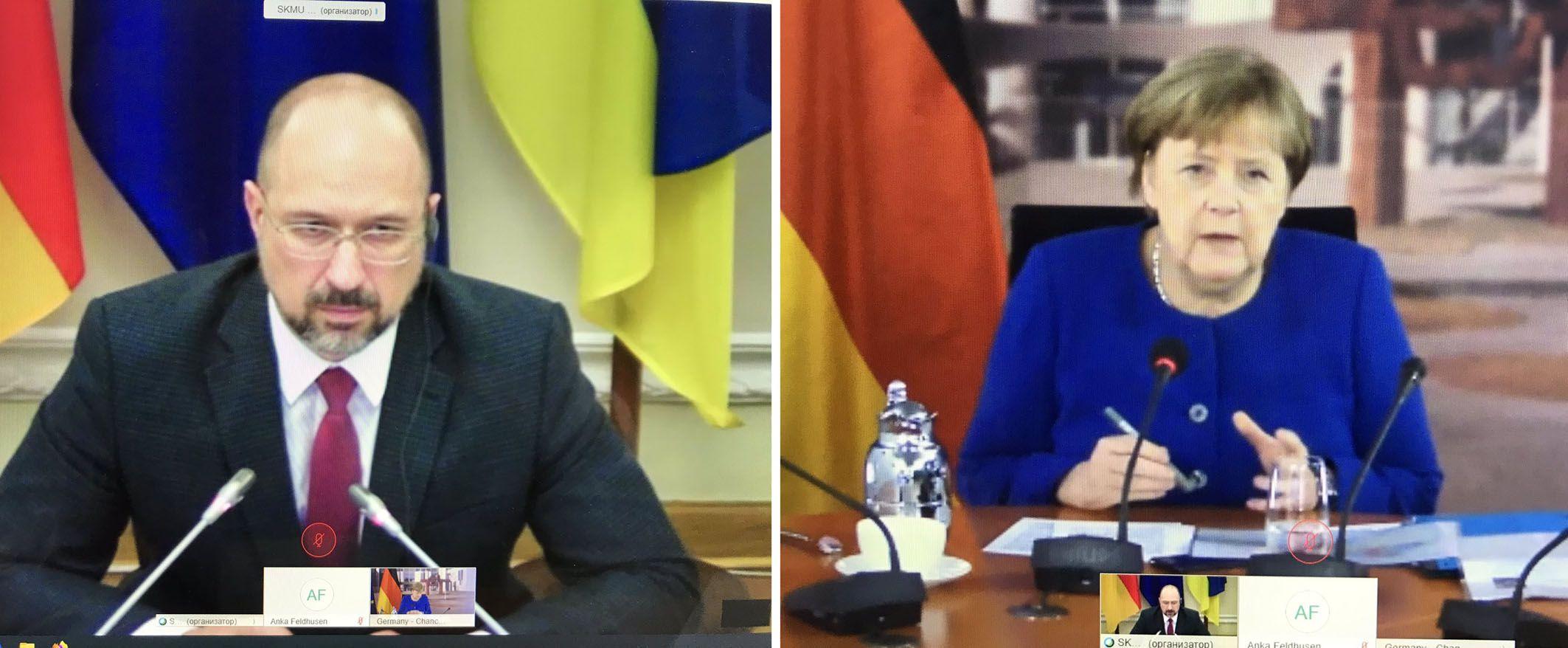 Премьер и Канцлер провели первые виртуальные переговоры