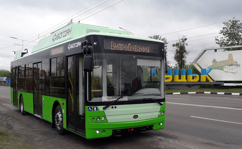 Харьков закупил луцкие троллейбусы