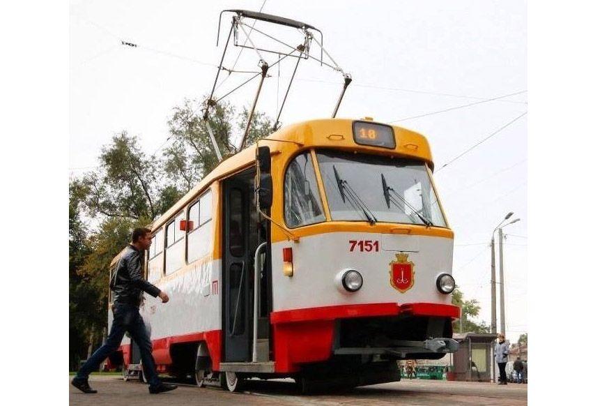 В Одесі трамваї будуть зручними для всіх