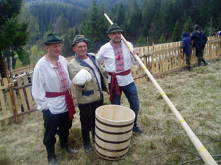 На полонинських літуваннях нероздільно переплелися складні будні й легенди ватагів