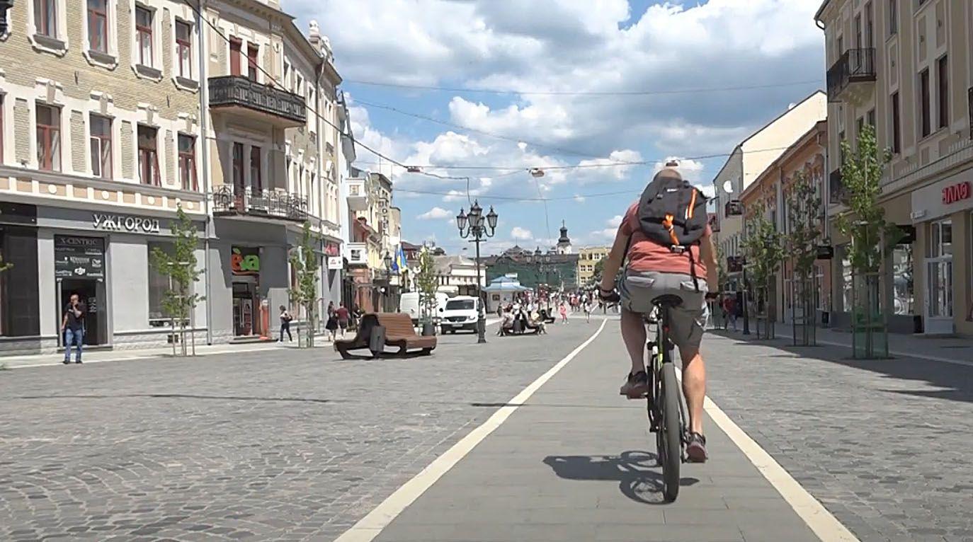 Ужгород: Знову повертається мода на велосипеди