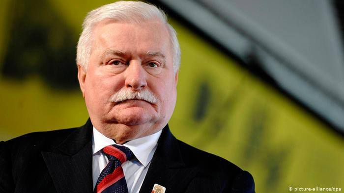 Леха Валенсу розкритикували за проросійські висловлювання