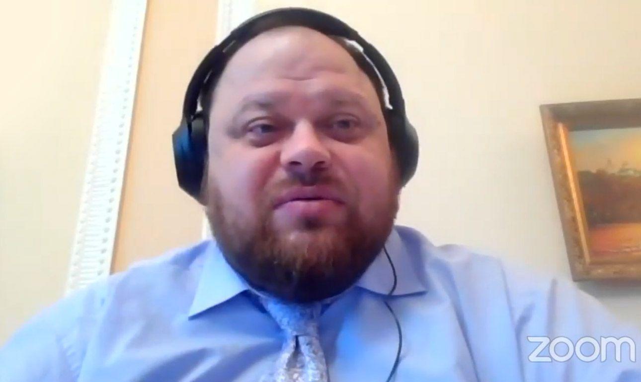 Руслан Стефанчук: «Необходимо переходить к финальной версии законопроекта о всеукраинском референдуме и вносить его в Верховную Раду»