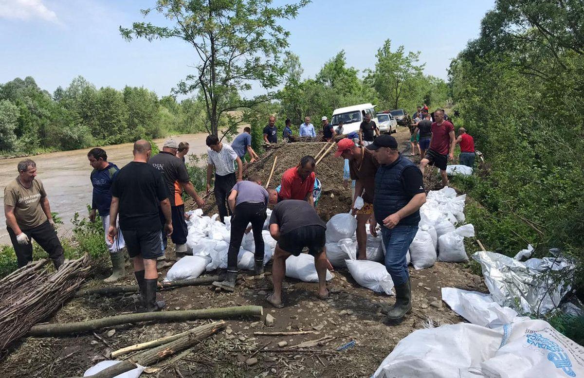 В Черновицкой области ливни натворили бед