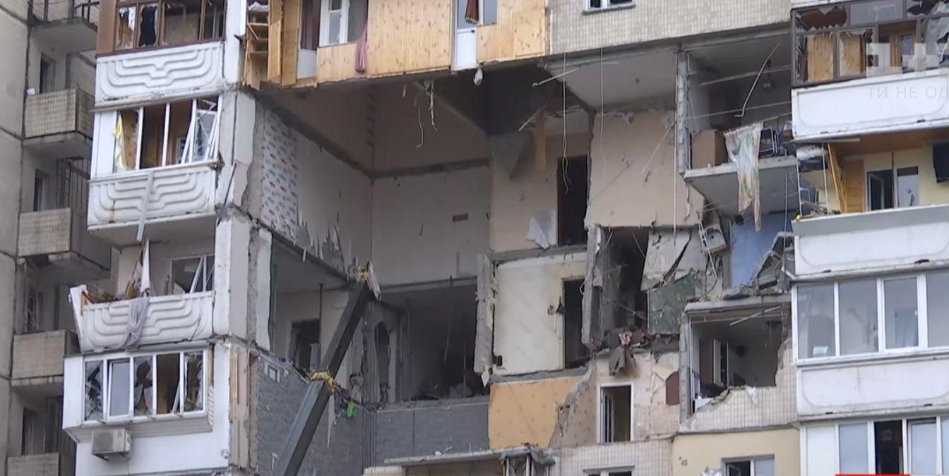 Под завалами жилого дома на Позняках нашли пятого погибшего