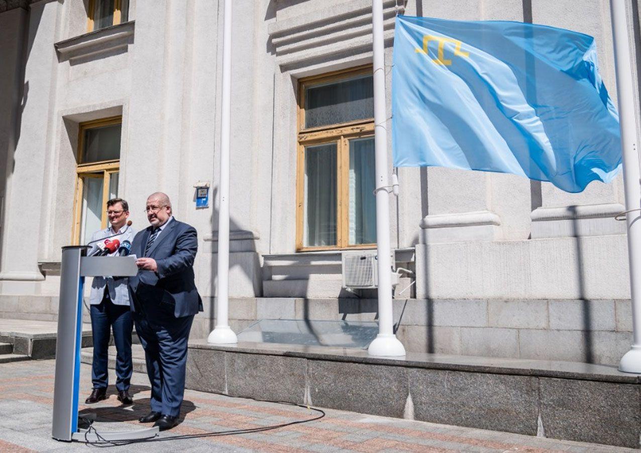 День прапора кримськотатарського народу  відзначали і в Україні, і за її межами