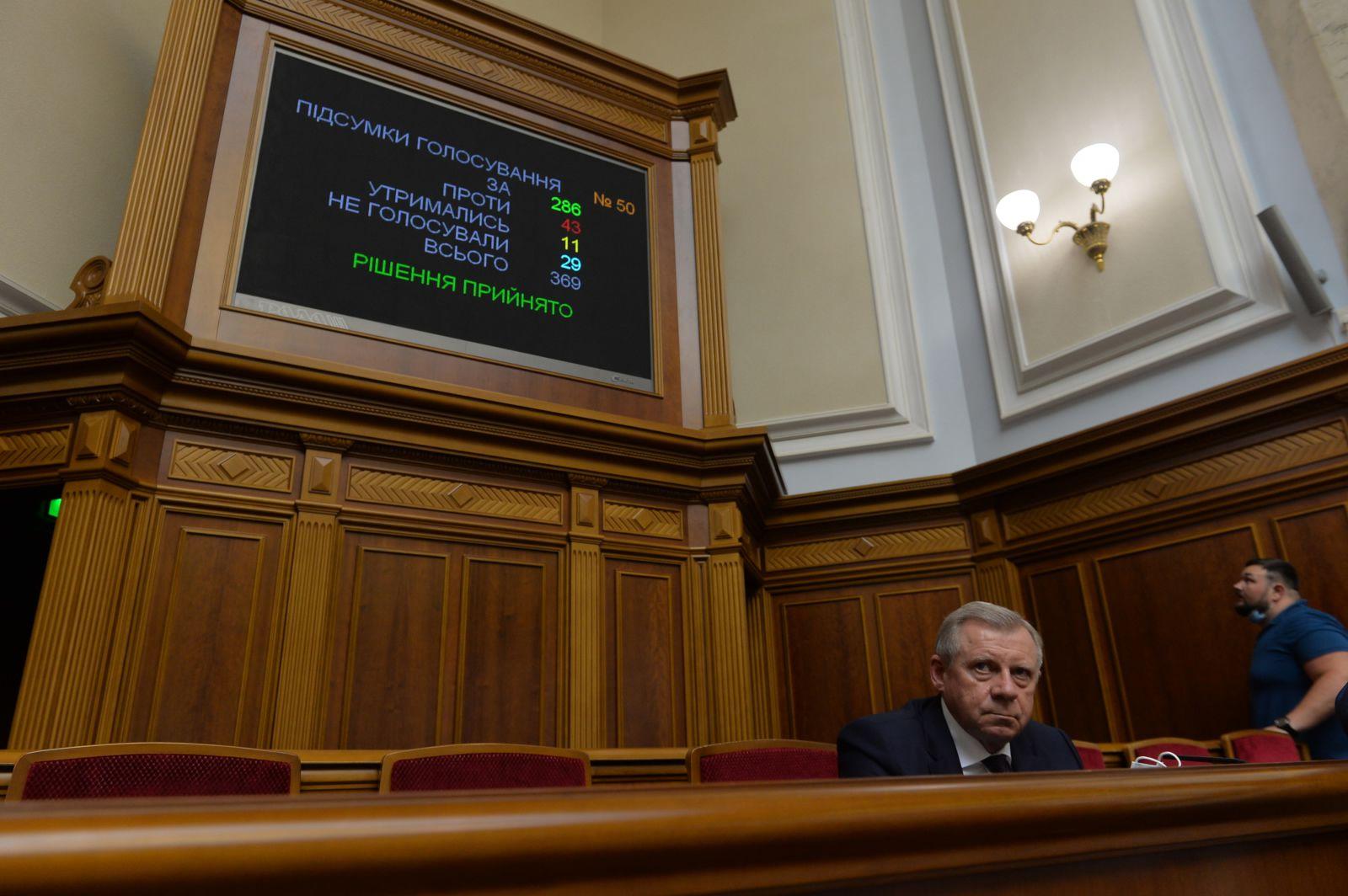 Про звільнення Смолія Я.В. з посади Голови Національного банку України