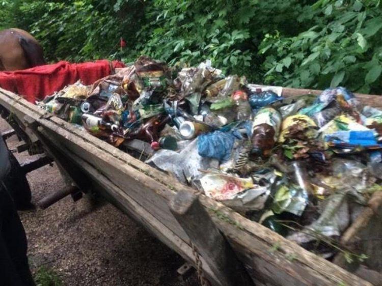 Закарпатье: Сбор мусора — первый шаг к чистой окружающей среде!