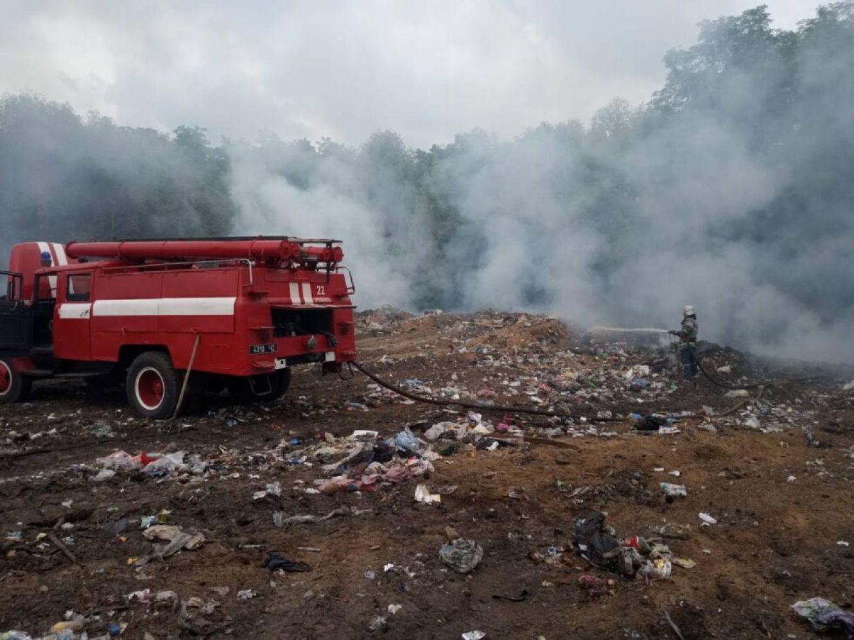 Полігон біля Кролевця виявився пожежонебезпечним