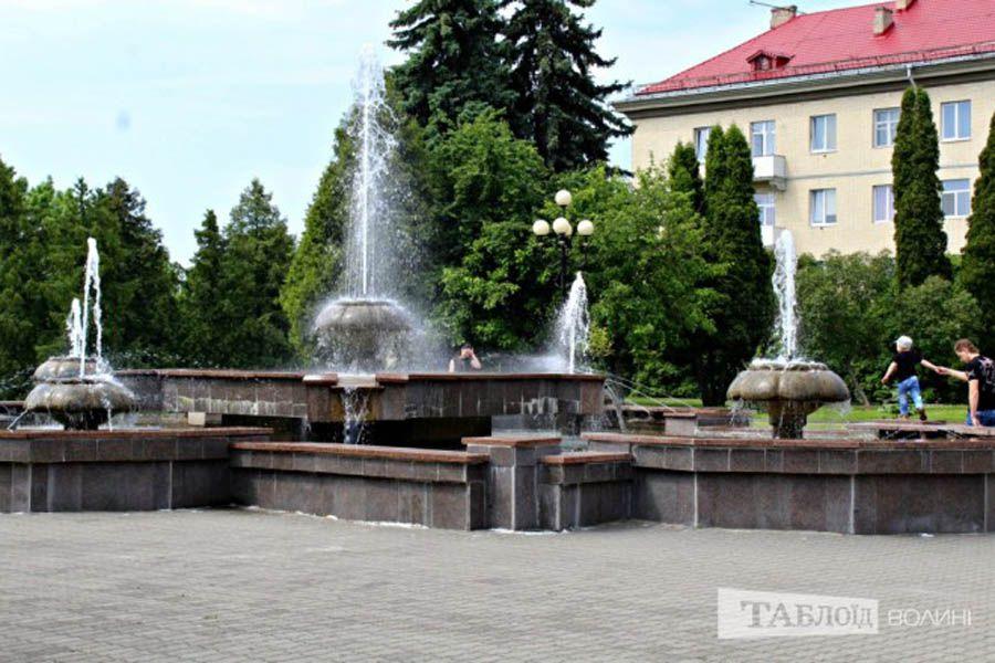 Лучани тепер можуть замовити послугу запуску фонтанів