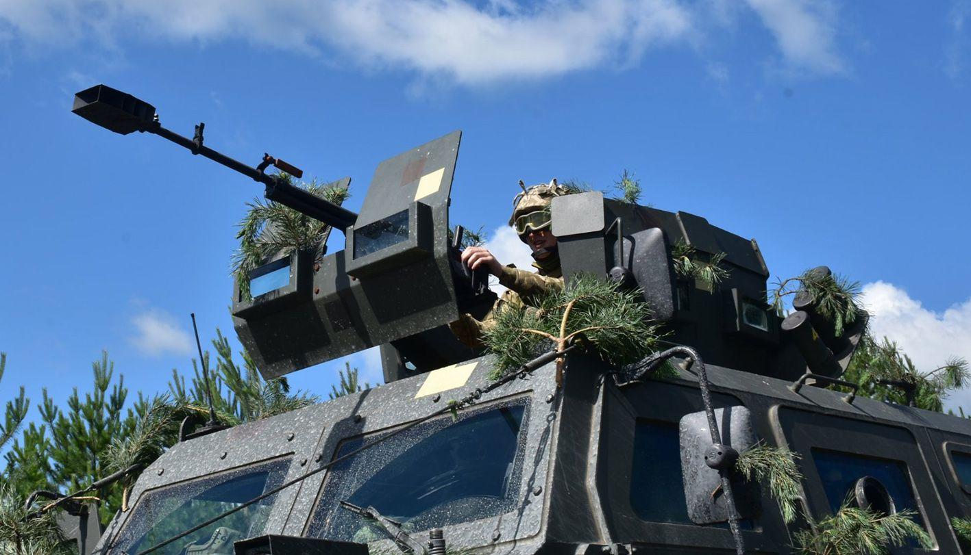 Десантники родовжують відшліфовувати тактичні й вогневі завдання