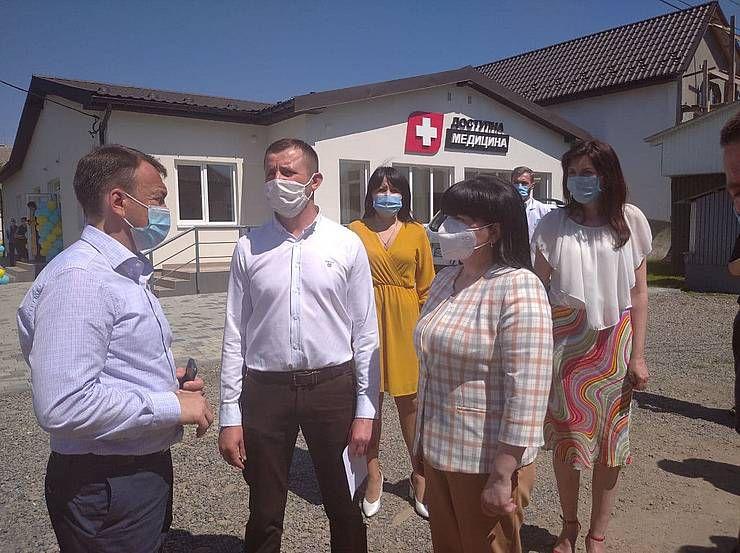 В Свалявском районе открыли три новые амбулатории